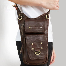 Genuine Leather Bag Men Bags Small Casual Flap Shoulder Crossbody Male Handbags Messenger Mens