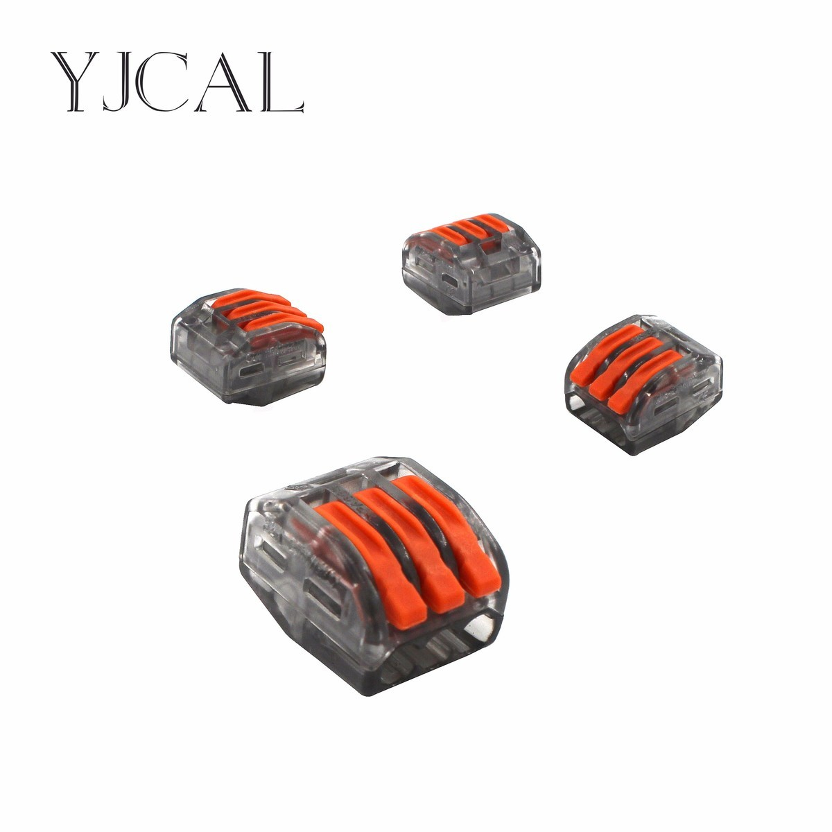 Wago Type 222-413 30PCS Universal Compact Wiring Conector Terminal Block Connectors Terminator Wire Connector AWG 28-12 10 pieces lot 222 413 universal compact wire wiring connector 3 pin conductor terminal block with lever awg 28 12