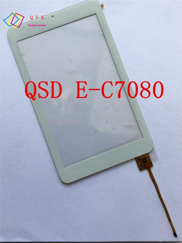 Black white QSD E C7080 04 E C7080 03 E C7080 01 tablet pc touch screen