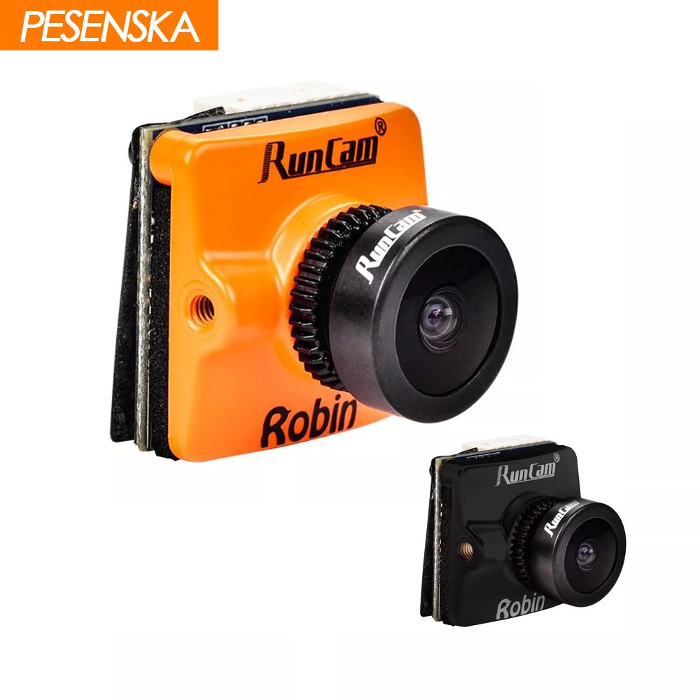 PESENSKA RunCam Robin 700TVL 1 8 2 1mm FOV 160 145 Degree 4 3 NTSC PAL