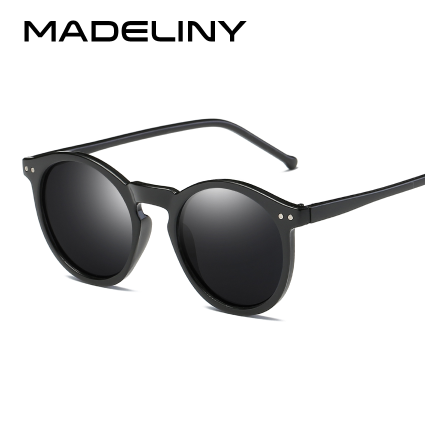 Madeliny Брендовая Дизайнерская обувь эллипса Форма несколько Цвет отражающие солнечные очки Для женщин Винтаж Замочная скважина зеркало очки...