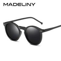 a7478904d7 MADELINY, diseñador de marca, forma de elipse de múltiples colores  reflectantes gafas de sol