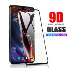Protector de pantalla de vidrio templado 9D para Oneplus 6 6T 5 5T 7, película protectora de vidrio para oneplus 5t 6t