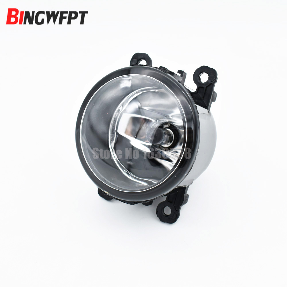 2pcs Fog Lamp Assembly LED Fog Light For Peugeot 207 307 407 607 3008 SW CC VAN 2000-2013 Halogen Fog Lights 55W 2pcs for peugeot 106 3d 1007 207 307 308 3008 406 407 508 607 18smd car led license plate light lamp oem replace automotive led