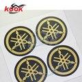 4 шт. pro для yamaha наклейки логотипа отличительные знаки круглый золотой стайлинга автомобилей moto украшения zhip горячая распродажа