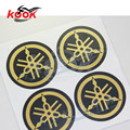 4 PCS pro motorcycle sticker for yamaha stickers logo motorbike decals round golden car styling moto Decoration zhip hot sell