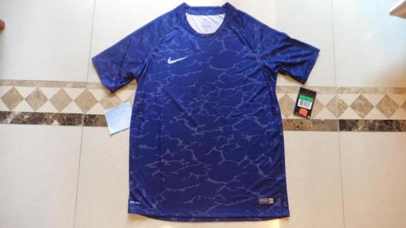 Camisetas de fútbol originales auténticas NIKE para hombre de manga ... 2f1e5872134a8