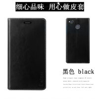 Aimak For Xiaomi Redmi 4X Case Genuine Leather PU Leather With Card Type Back Cover For