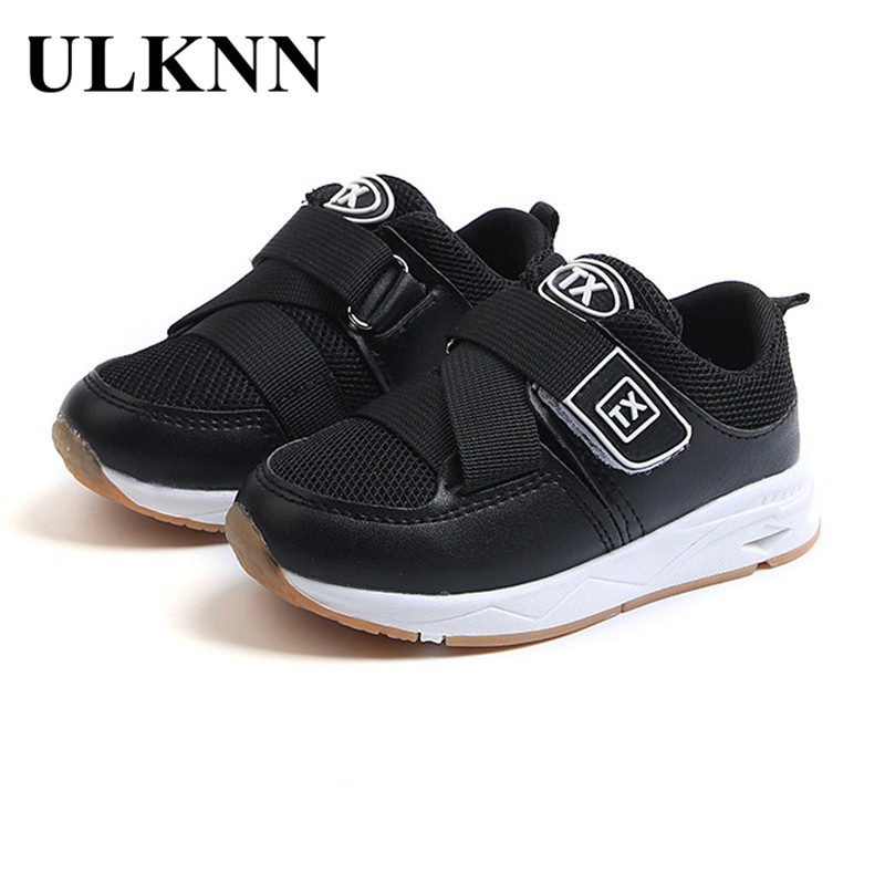 ULKNN Children Shoes Toddle Baby Boys Running Sneaker Kids School Casual Shoes Girls Mesh Breathable Sport Sneakers Spring 2018