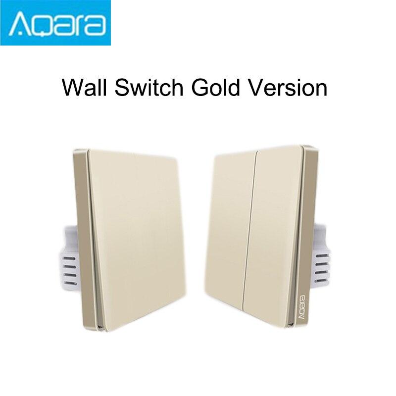 2019 Newest Upgrade Original Mijia Aqara Wall Switch Smart Light ZigBee Switches Remote Control For Xiaomi