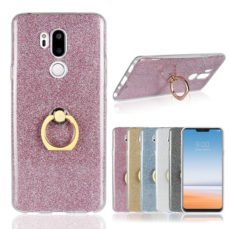 НГУ оригинальный ультра тонкий мягкий силиконовый чехол для LG G7 thinq Чехол подставка прозрачной кожей задняя крышка для G7 thinq 2018 Coque принципиа...