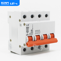 Original authentic LG (LS) four pole circuit breaker air switch BKN 4P BKN 4P D6 10 16 25 40 63 D type