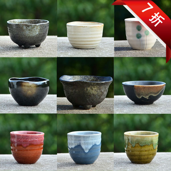 Fashion Japanese Style Mini Flower Pot Ceramic Coarse