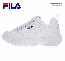1e84bc00c0d 2018 Fila Disruptor II 2 Men and Women Sneaker Running Shoes White-brown  and white summer Increased Outdoor Sneaker size 36-44