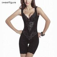 Mulheres Sexy Corset Shaper Magia Slimming Bodysuits Edifício Lingerie Shapewear Senhoras Ternos Emagrecimento Calça Pernas Moldar O Corpo