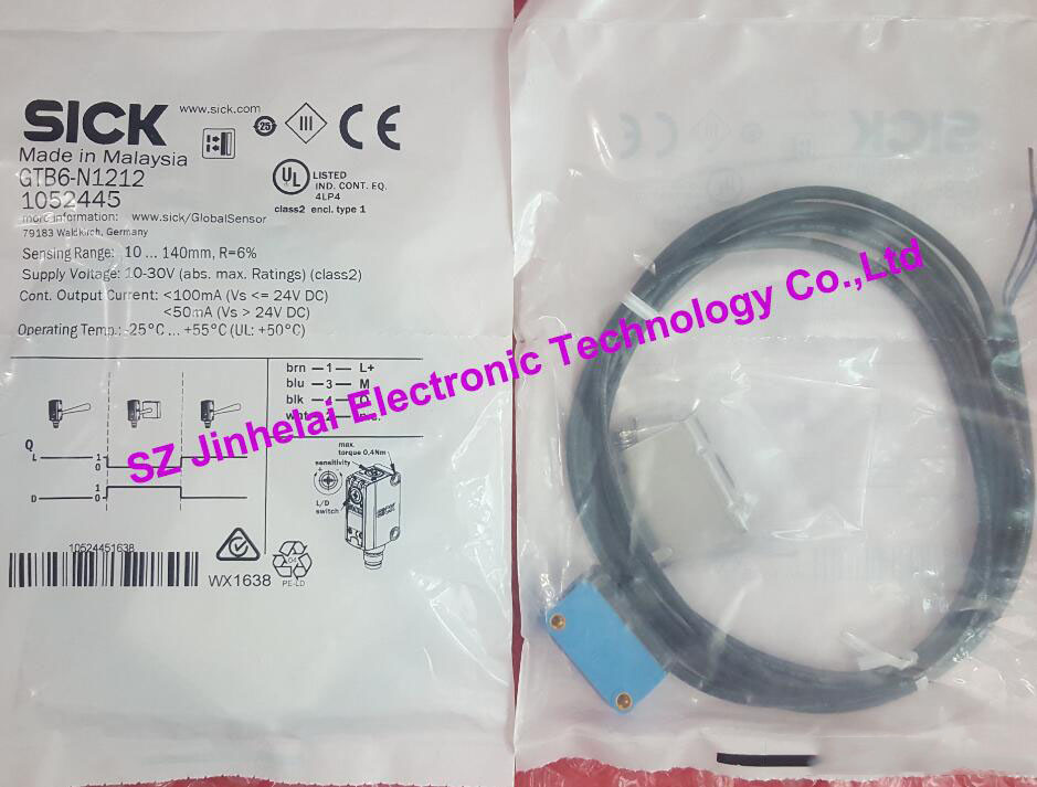 GTB6-N1212(GTB6-N1211 and stent) New and original SICK Photoelectric switch, photoelectric sensor gefen gtb hdbt pol blk