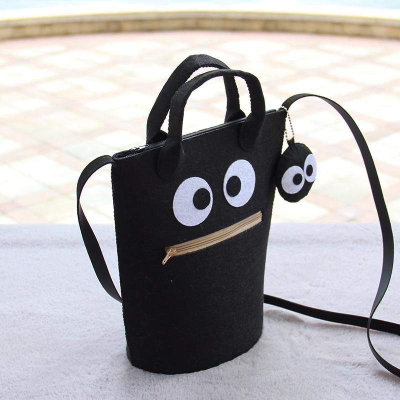 New Free Cut Sakura Satchel Purse Bag Shoulder Bag Felt Bag DIY ...
