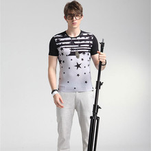 2016 Summer New T shirt Homme Marque Cheval Shirt clothing Suits Short Sleeve Funny Men's T-shirt Hot Sale DC023