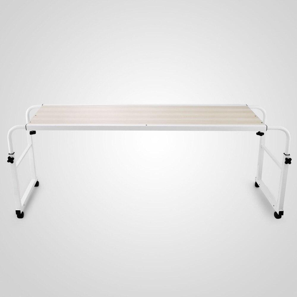 Table réglable en hauteur en acier noir de bureau intelligent pour ordinateur portable