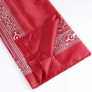 Image 5 - OurWarm Eid Mubarak Muslimischen Tasche Gebet Matte Teppich Baumwolle Teppich Reise Geschenke Für Gast Schlafzimmer Ramadan kareem Party Dekoration
