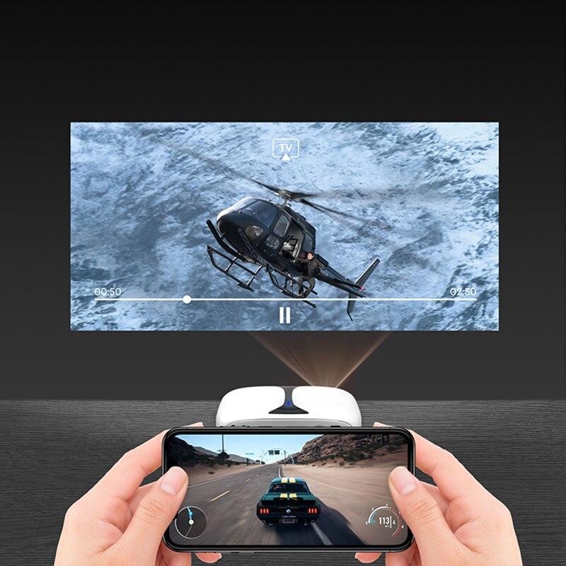 Gigxon G606 MINI projecteur DLP Max 1920*1080 Support HDMI USB WIFI Proyector Portable HD projecteur pour maison jeu cinéma Smartphone - 2