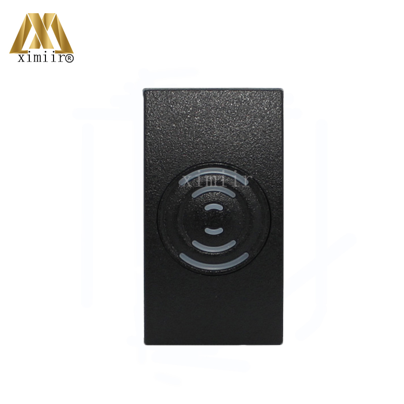 ZK 13.56MHZ IC Card MF Card Door Access Control Card Reader With Wiegand34 IP65 Waterproof Smart Card Reader With Two LED Light biometric face and fingerprint access controller tcp ip zk multibio700 facial time attendance and door security control system