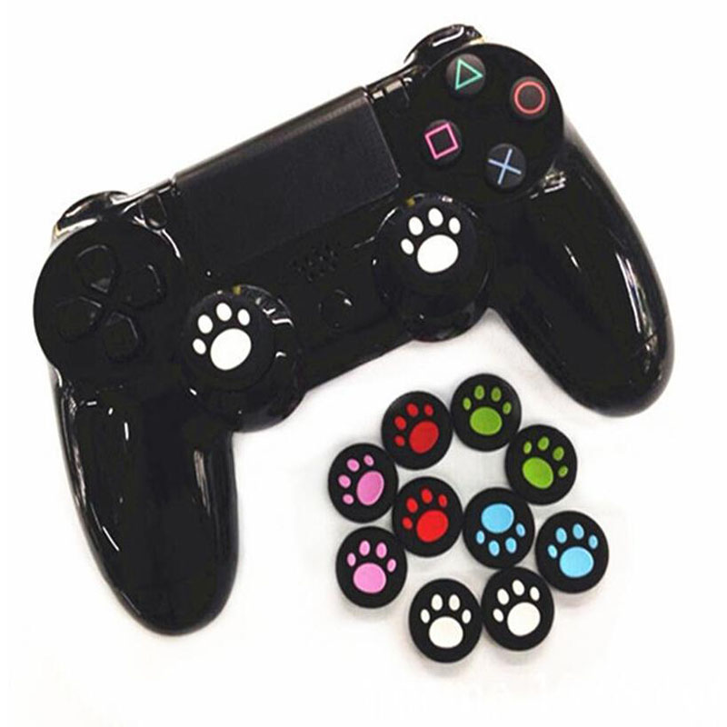 2pcs Thumbstick Grip Cap Gamepad Joystick Cover Case For Sony PlayStation Dualshock 3/4 PS3 PS4 Slim Pro Xbox One 360 Controller