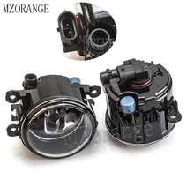 MZORANGE Fog Light Fog Lamp For Mitsubishi Outlander L200 Pajero Grandis Galant 2003-2015 Halogen Fog Lights 2pcs Super Bright цены
