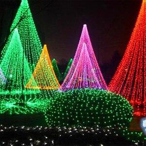Image 5 - Led di vacanza Luci di Natale Garland String Light10M 20M 30M 50M 100M AC220V di Natale Impermeabile Luci Di Natale lampada della decorazione