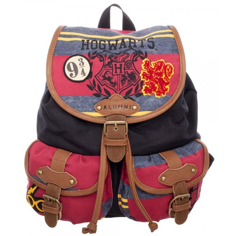 Harry Potter bag Hogwarts backpack women's shoulder bag good quality schoolbag Crossbody bag цена
