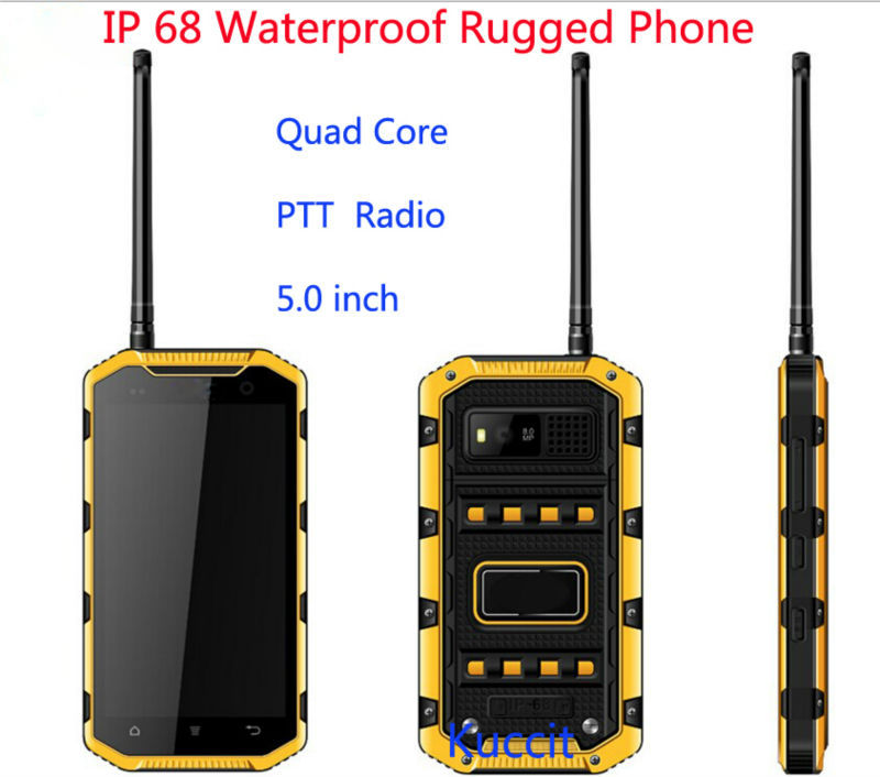 Original S931L IP68 Waterproof Phone Rugged Android Smartphone Dustproof 5 MTK6735 Quad Core 4G LTE PTT