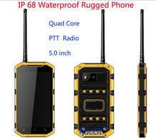 """Оригинальный S931L IP68 Водонепроницаемый телефон прочный Android-смартфон пыле 5 """"MTK6735 4 ядра 4 г LTE PTT Портативная рация 5400 мАч"""