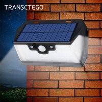 Güneş Işığı 53 led duvar Lambaları Hareket Sensörü Açık Su Geçirmez Uzaktan Bahçe Spot Yolu Sokak Geniş Açı Güneş lamba ampulü