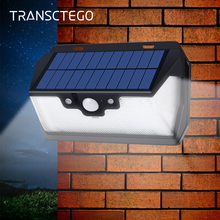 Solar Light 53 LED Wall Lamps Motion Sensor Outdoor Waterproof Remote Garden Spotlight Path Street Wide Angle Solar Lamp Bulb