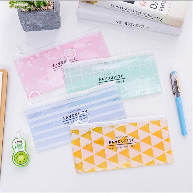 Fashion Make Up PVC Zipper Toiletry Travel Wash Toothbrush Cosmetic Bag Wash Pouch Organizer Bag Portable Woman Makeup Bag
