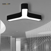 New Acrylic Dimming Ceiling Lights For Living Study Room Bedroom Home Dec plafonnier AC85 265V Modern Led Ceiling Lamp Fixtures