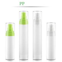 2pcs/set 15ml/30ml/50ml PP dull polish vacuum bottle Emulsion essence Sub bottling Trial Pack Vacuum wholesale BQ235