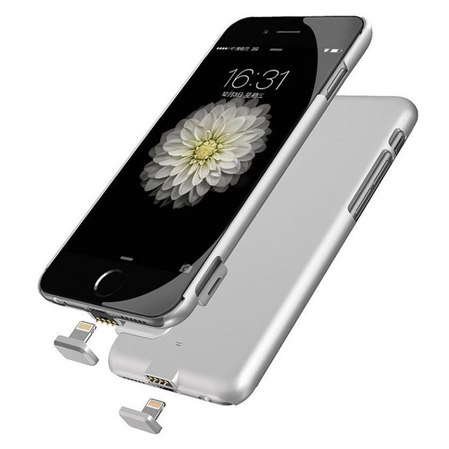 External Charger Case 2000Mah Backup Battery Cover  Ultra thin Power Bank Case For Apple iphone 6 Plus 6S Plus 5.5