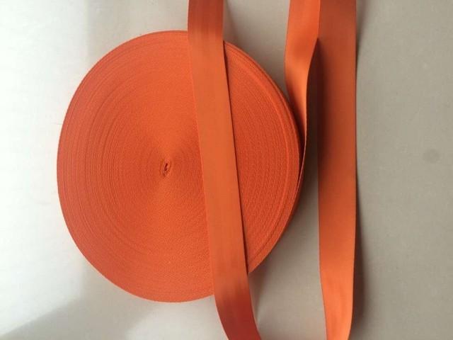 8 metros Rollo de tejido Del Cinturón de Seguridad Correa de orangeColor 48mm Ancho 5 Bares