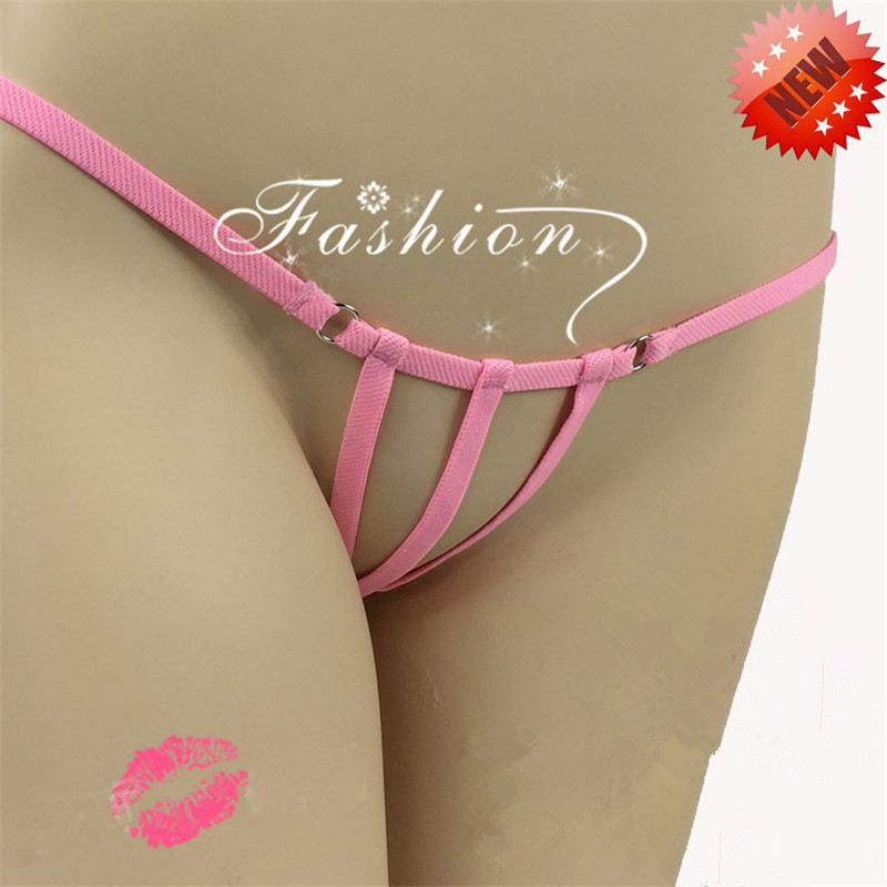 779a1aa81a3095 PeekABoo Strings Women Open Crotch Sexy Micro Bikini G-Strings Thongs  T-back Tangas