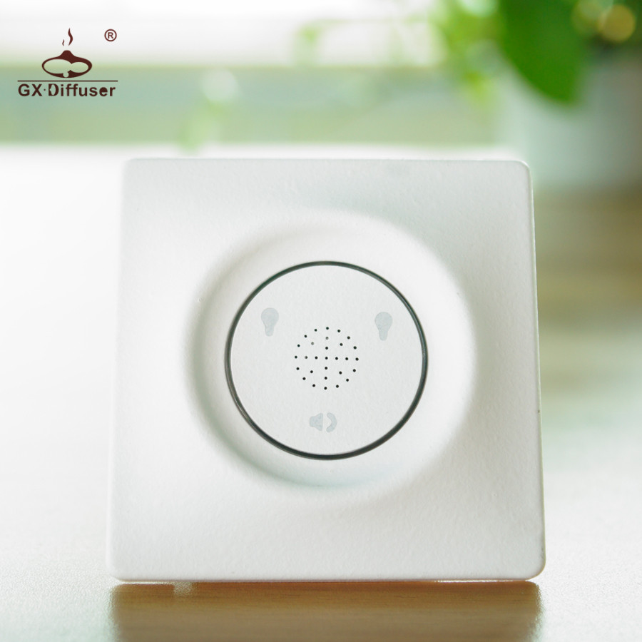 GX.Diffuser New Type 2Gang 2 Way Intelligent Touch Switch Wireless Light Switch Smart Sound Sensor Switch And Touch Control Home 1pcs smart home sensor touch sensor small switch socket 86 intelligent touch open a single control switch panel