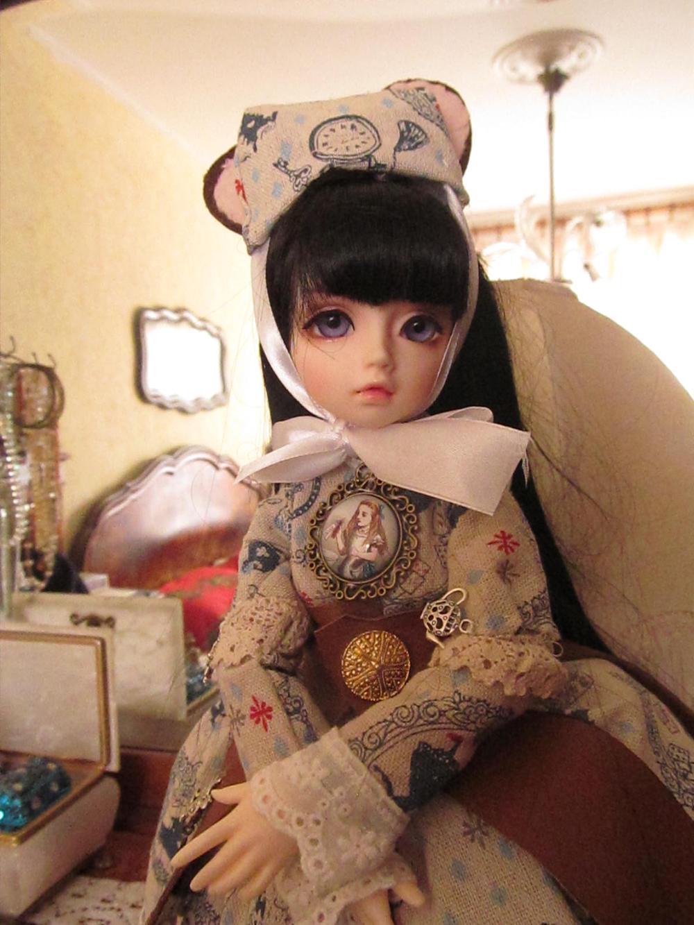 OUENEIFS  MSD F20 1/4 bjd sd dolls model  girls boys eyes High Quality toys  shop resin 2
