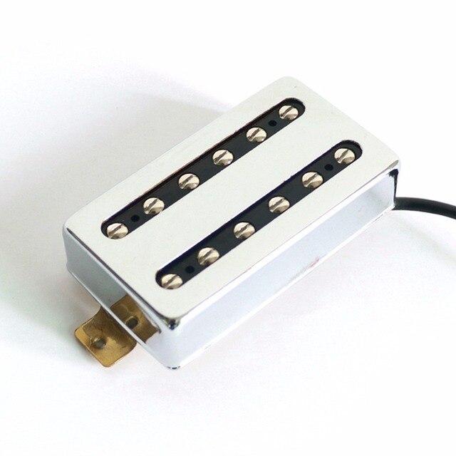 Diy Electric Guitar Phụ Chrome Màu Alnico2/5 humbucking LP Guitar Pickups với 4 dây dây sáp trong chậu