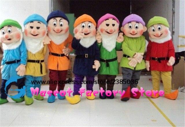 disfraces de los 7 enanos