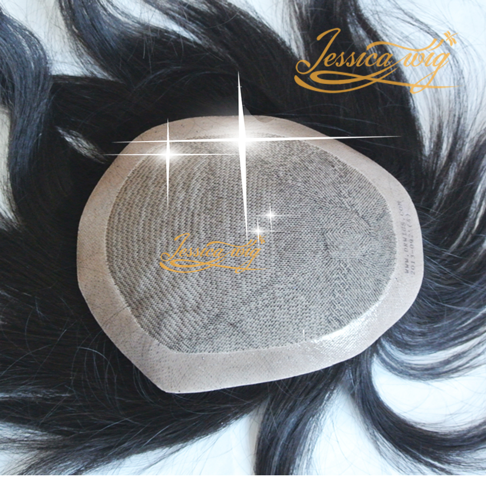 4 In Beautie No Knots Silk Base Women Toupee, Customized Hair Replacement For Female