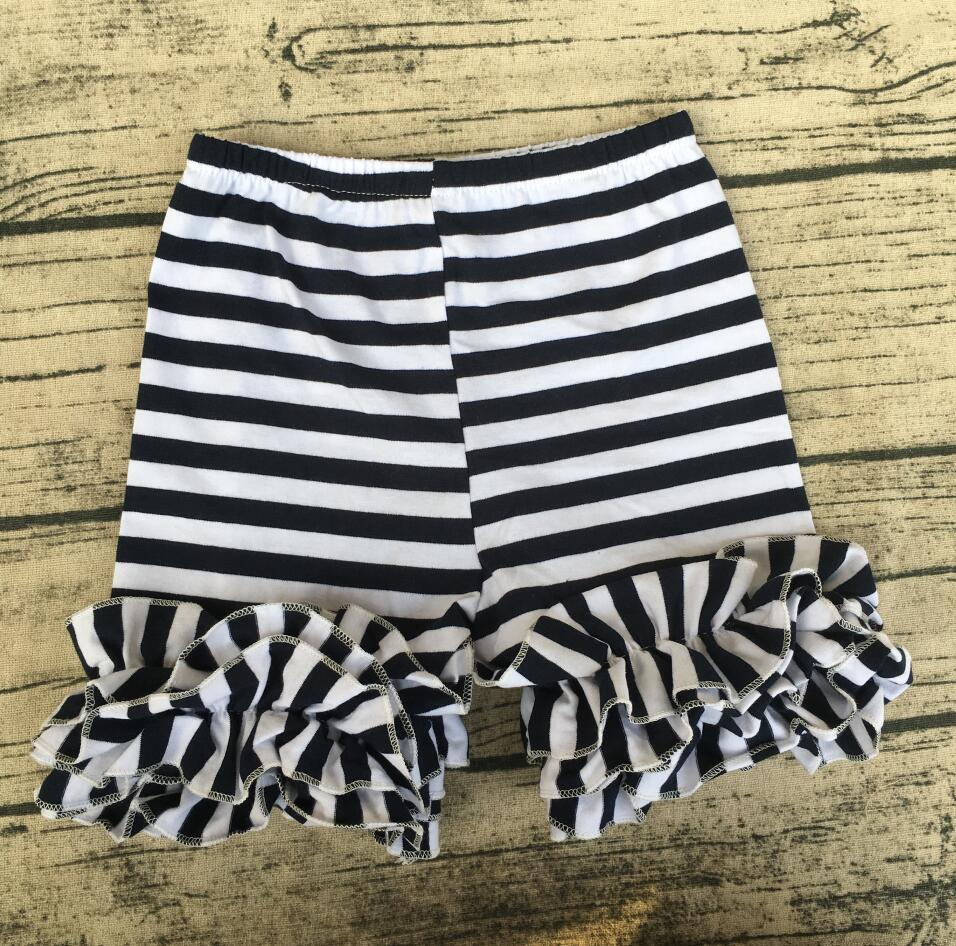 bulk wholesale sriped baby girl knitted shorts children boutique ...