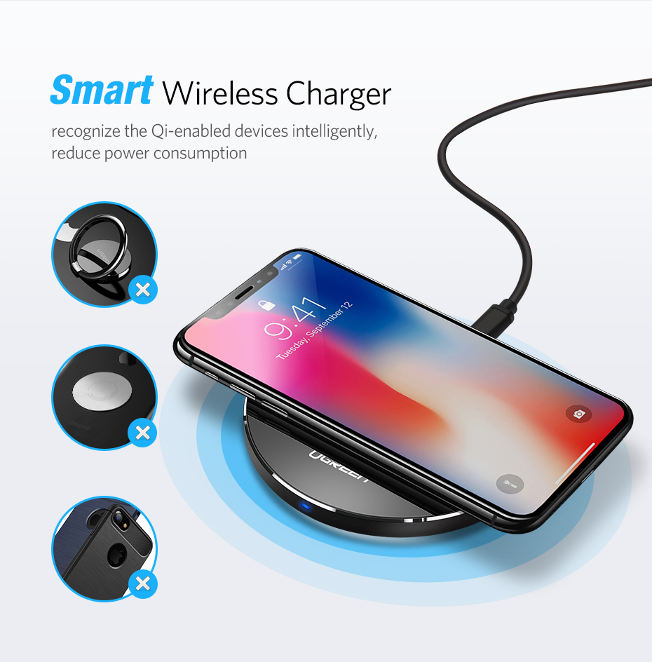 Smart Wireless Charger Pad 11