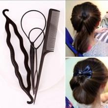 Hair Clips Bun Maker