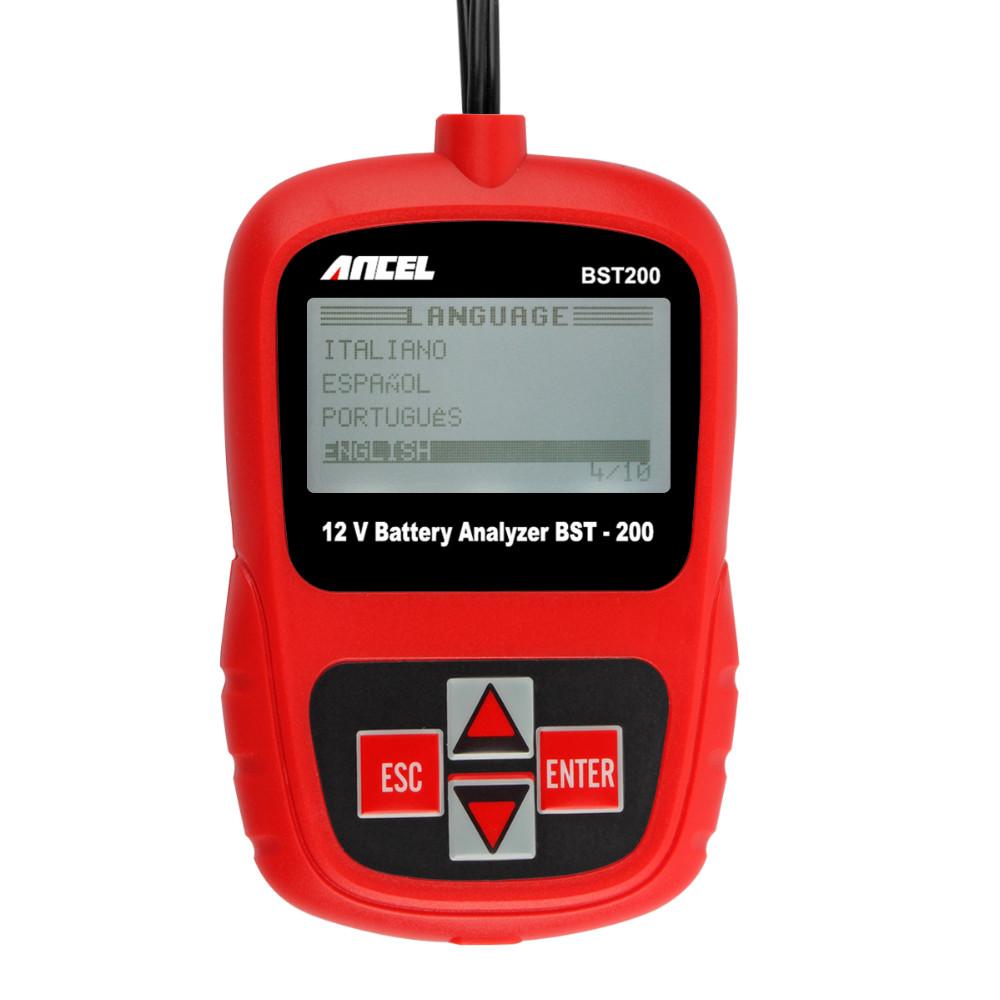 Ancel BST200 12V Car Battery Tester-11