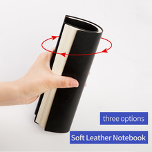 ФОТО  cagie\a4 large overshadowed soft leather high quality notebook commercial office notepad \emboss logo\free shipping\1652